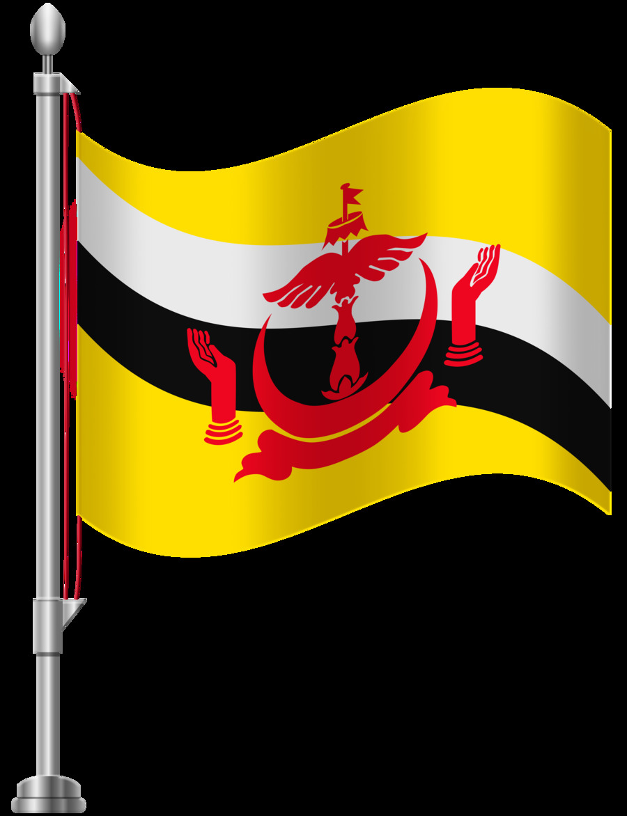 Download Flag Clipart National Flag Flag Of Brunei Clipart Free