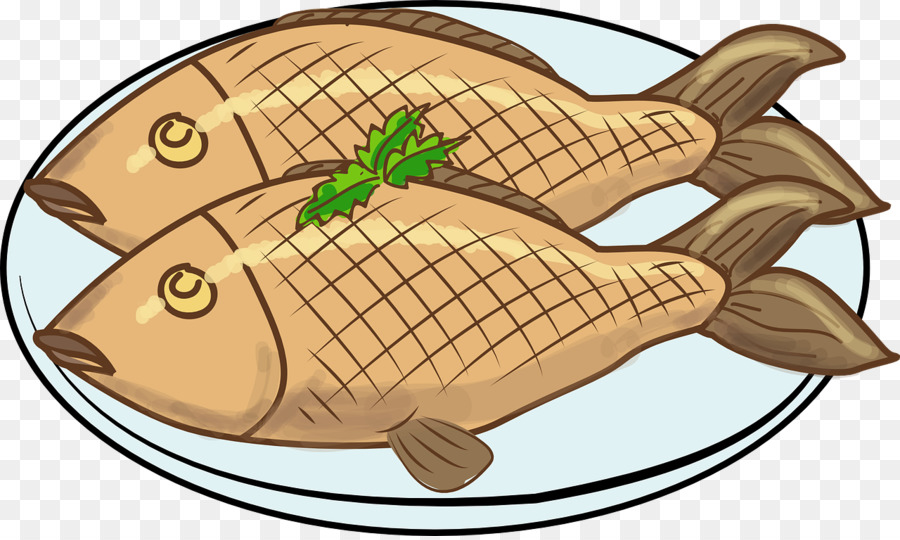 Chicken fish. Fried clipart food cooking