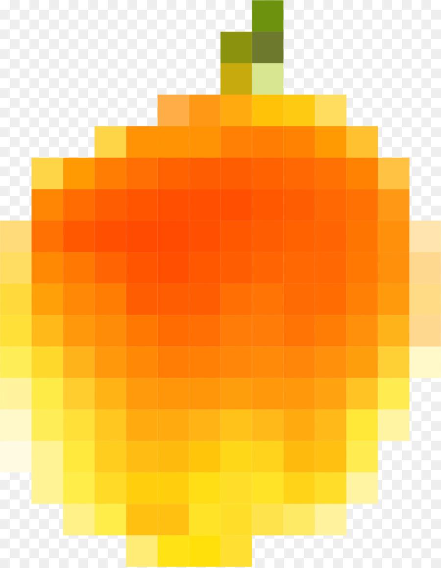 Pixel Art Clipart Peach Rectangle Square Transparent