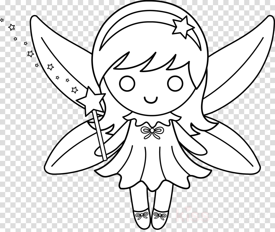 fairy colouring pages for kids clipart Tooth Fairy Disney Fairies Coloring book
