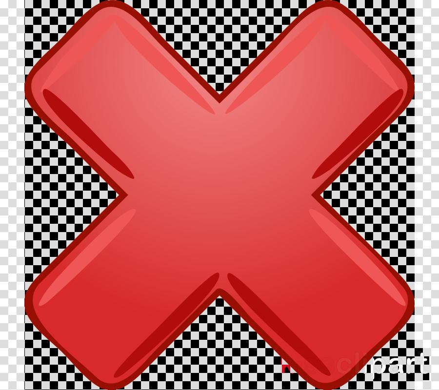 big red x clipart Clip art