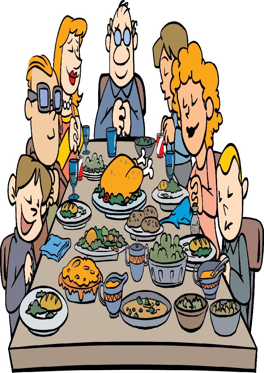 family eating clip art - HD850×1200
