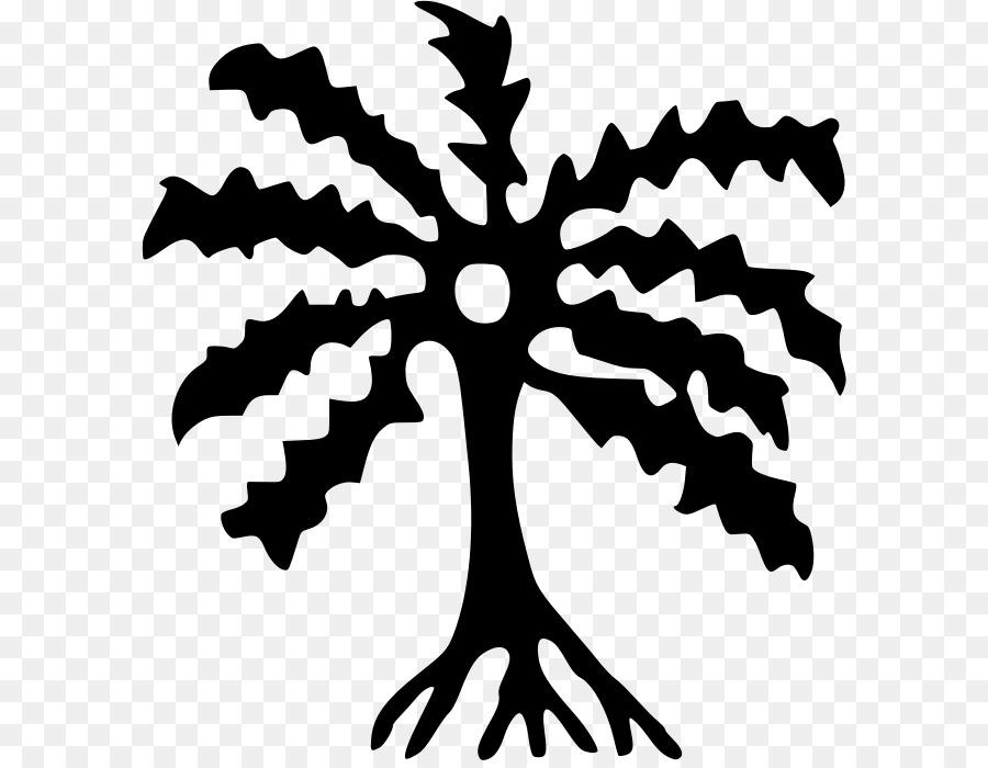 Download Abe Dua Clipart Adinkra Symbols Gyaaman Ghana Tree Leaf