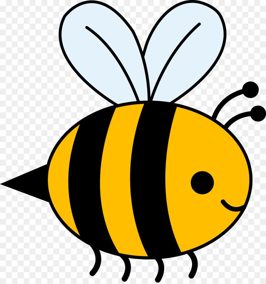 Spring bee. Cartoon clipart ladybird transparent