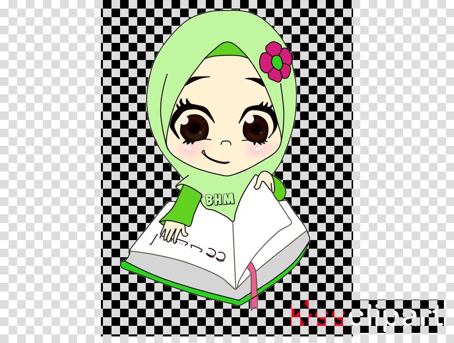 reading quran cartoon clipart Quran Islam Cartoon