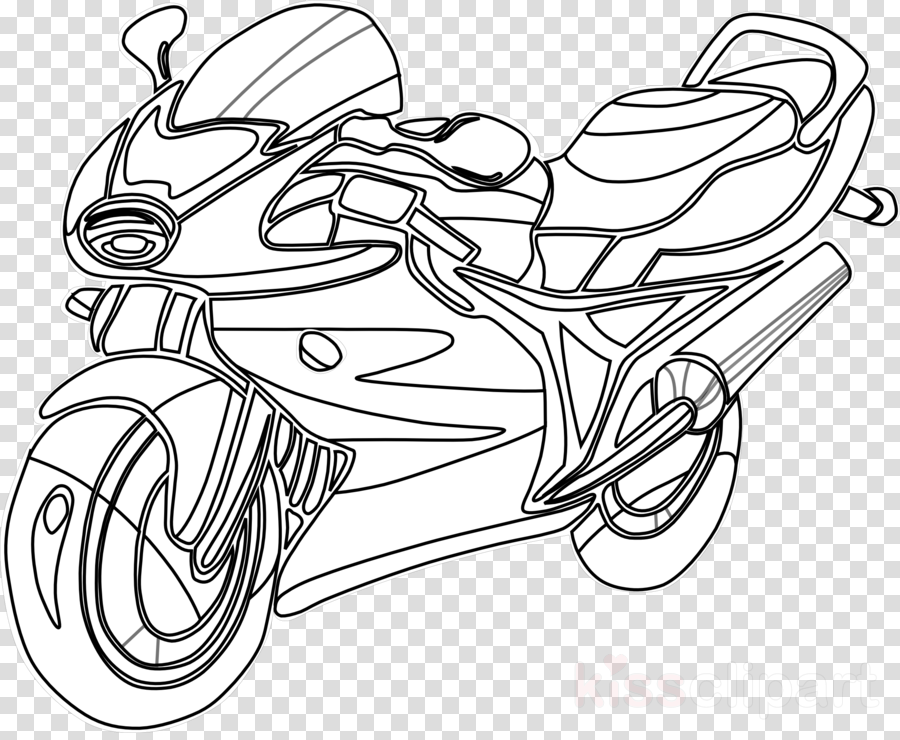 motorcycle coloring book clipart Motorcycles Coloring Book