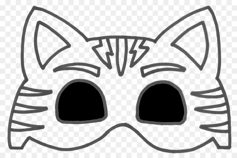 Pj Masks Catboy Mask Template Clipart United Kingdom Costume