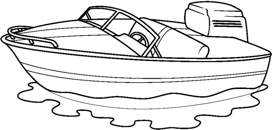 Download medios de transporte acuaticos para colorear clipart Boat ...