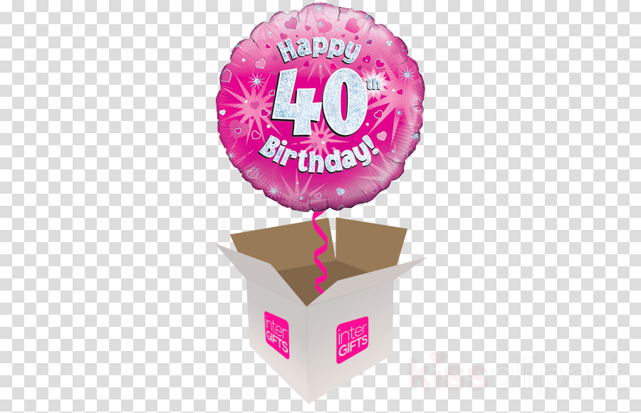Birthday Balloon Gift Transparent Png Image Clipart Free Download