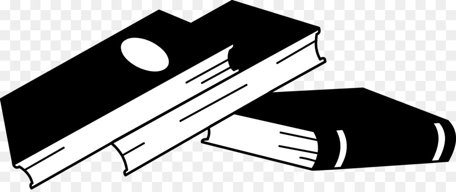 Technology book. Black and white clipart