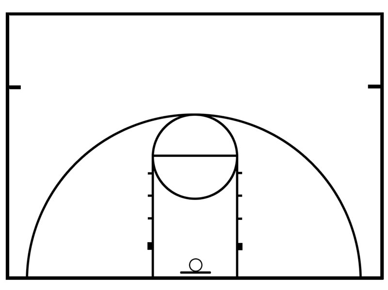 Basketball Half Court Diagram Electrical Wiring Diagrams