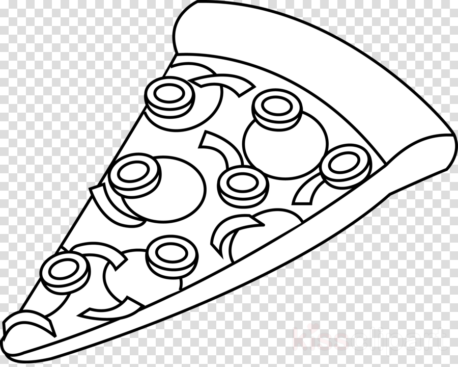 Pizza Circle Transparent Image Clipart Free Download