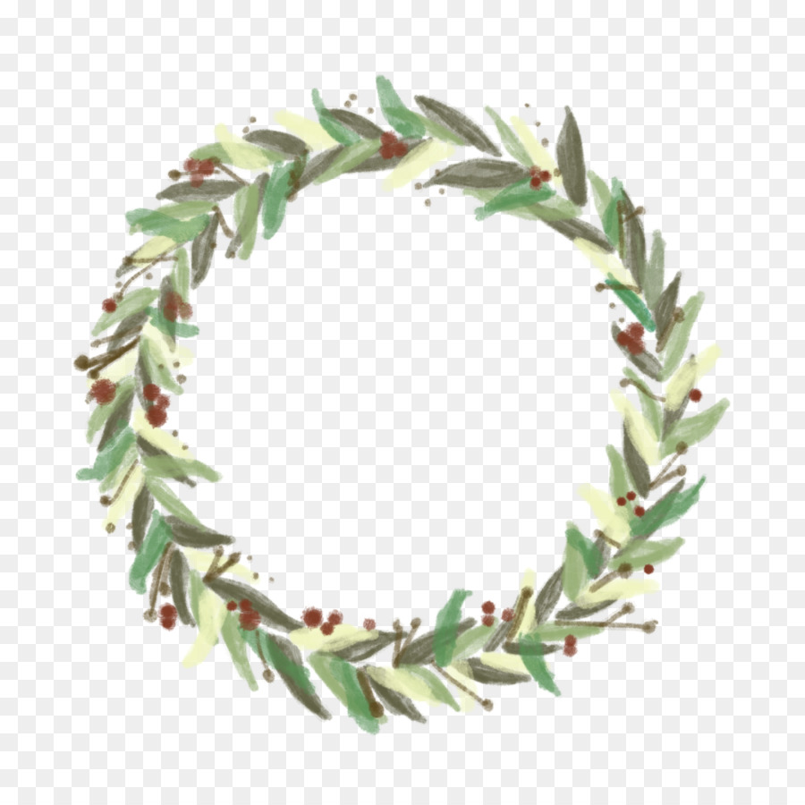 Christmas Garland Drawing.Christmas Decoration Drawing Clipart Wreath Leaf