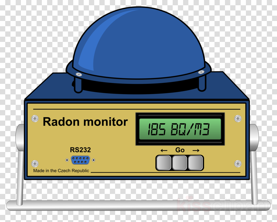 Radon clipart Radioactive decay Radon Clip art