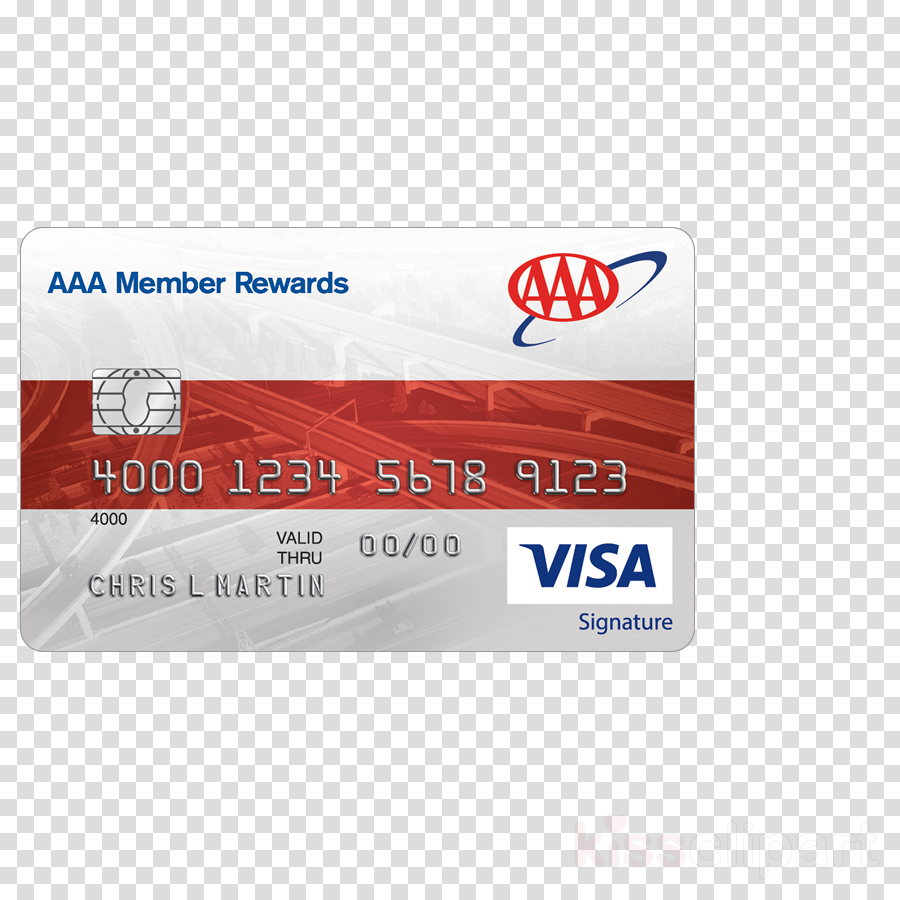 Credit card clipart AAA Credit card Visa