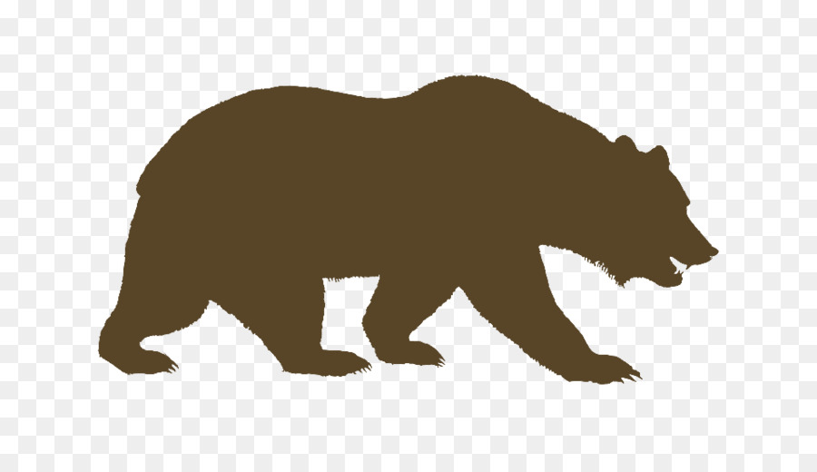 California bear. Clipart transparent clip art