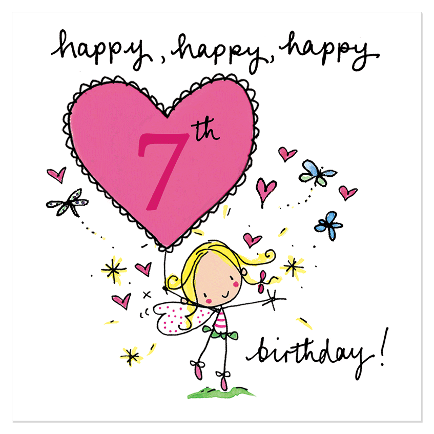 Clipart Resolution 847847 Happy 7th Birthday To My Daughter