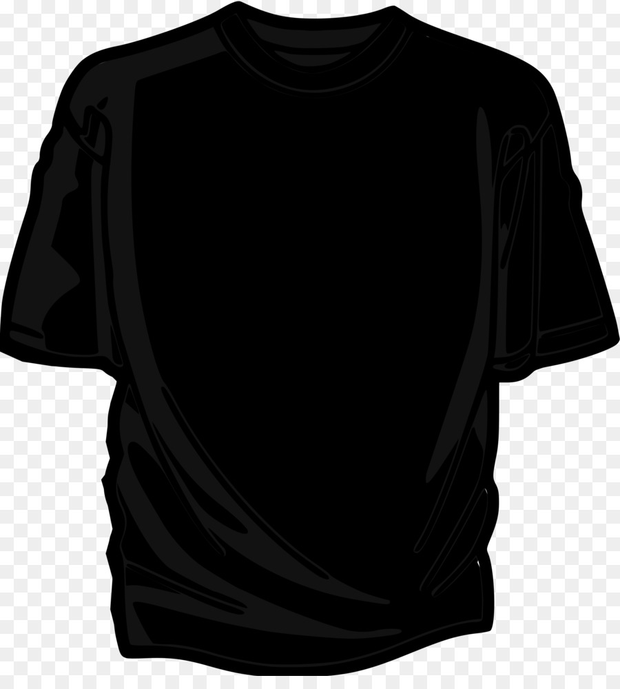 black tshirt image png clipart T-shirt Clip art