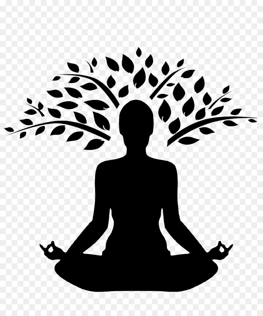 Tree Branch Silhouette Clipart Yoga Meditation Tree Transparent Clip Art