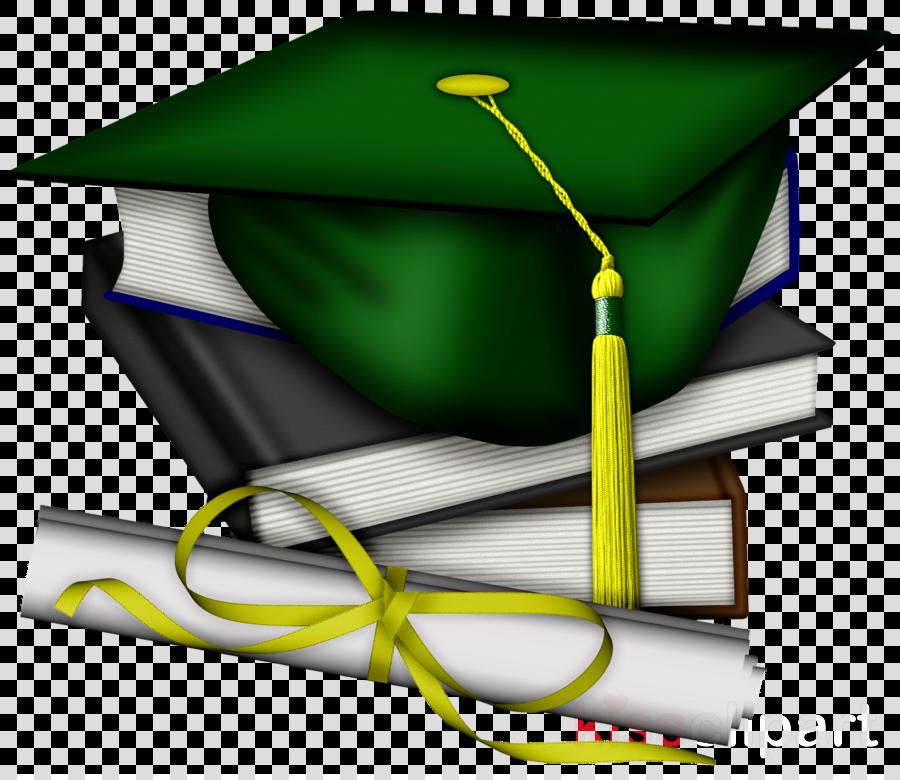 cfd30a67d0f green graduation cap and diploma clipart Graduation ceremony Square  academic cap Academic dress