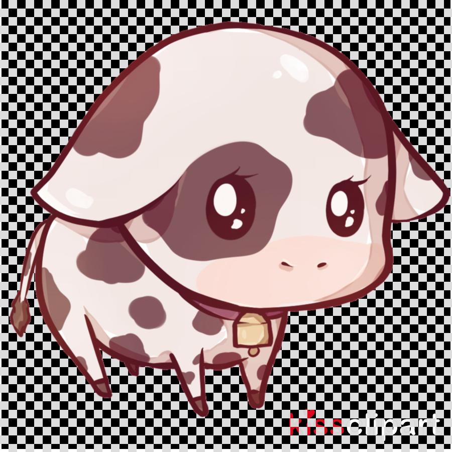 kawaii cow clipart Highland cattle Kawaii Baka