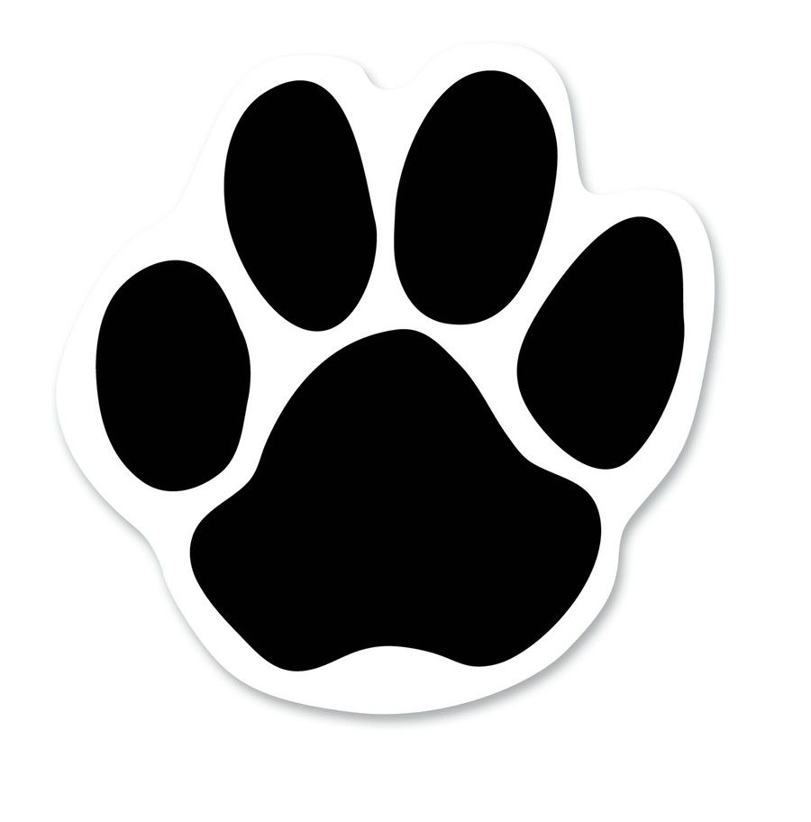 Download bear paw print outline clipart Bear Dog Clip art