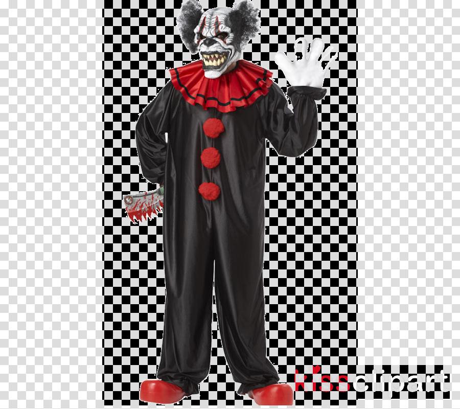 scary halloween clown clipart Evil clown Costume