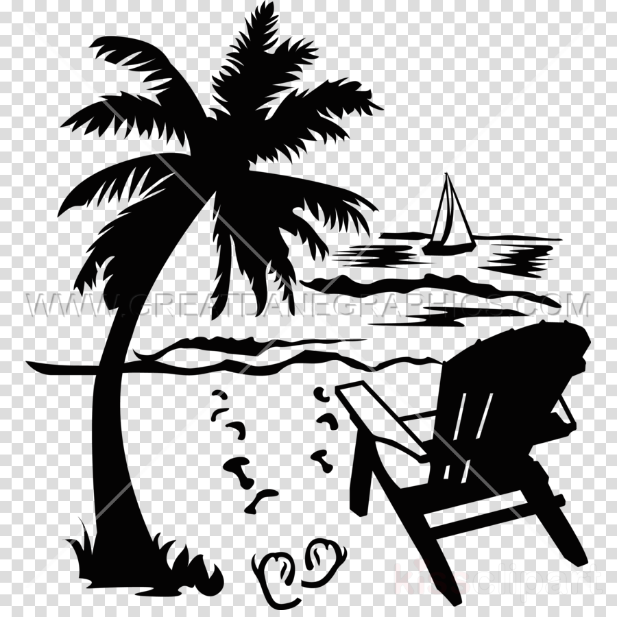 beach etched on yeti clipart Beach Drawing Clip art