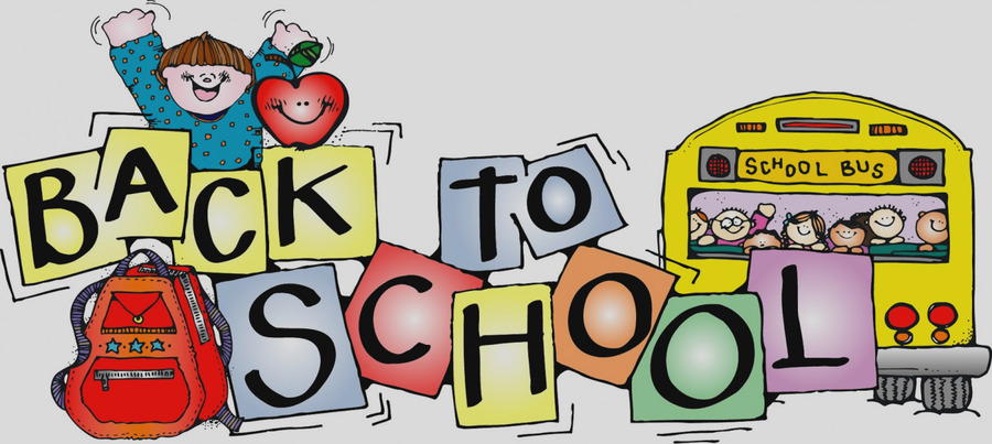 Back to school banner. Download facebook covers clipart