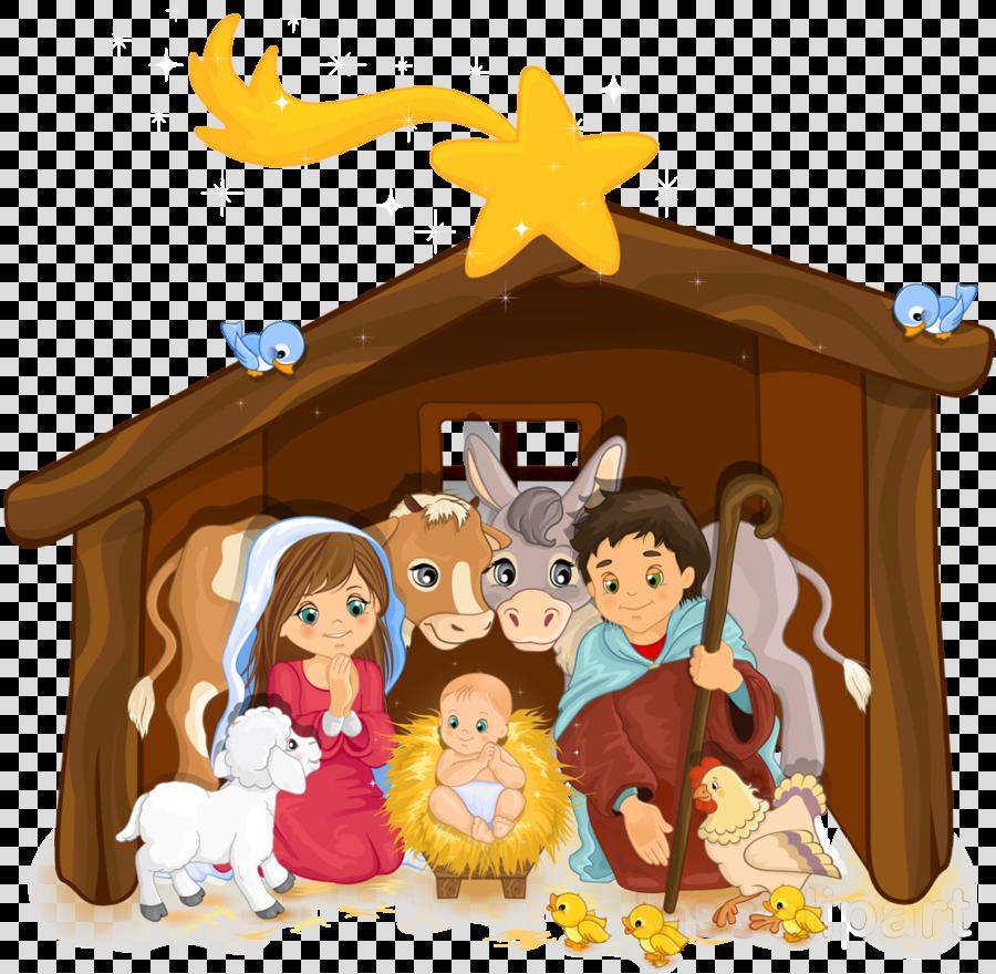nativity clipart Nativity scene Nativity of Jesus Clip art