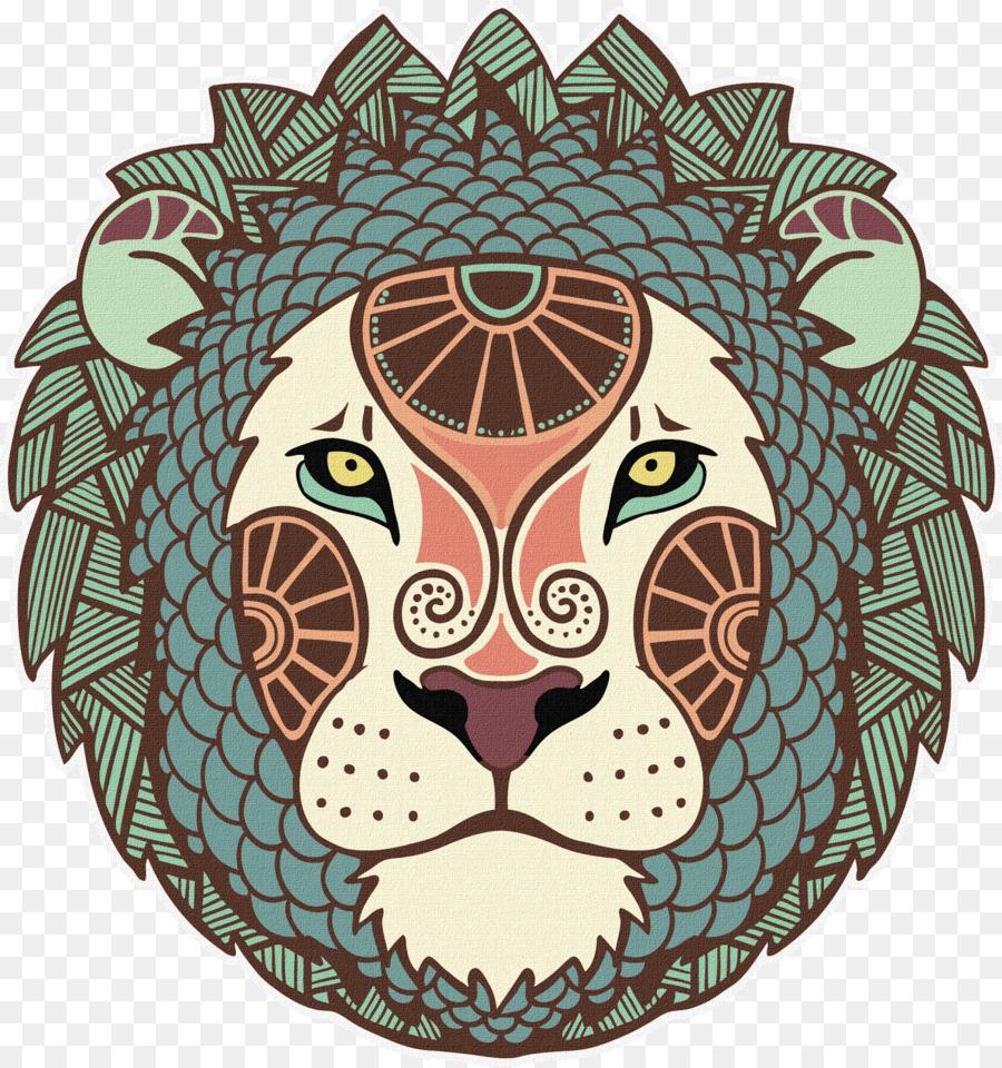 leo horoscope clipart Horoscope Astrological sign Leo