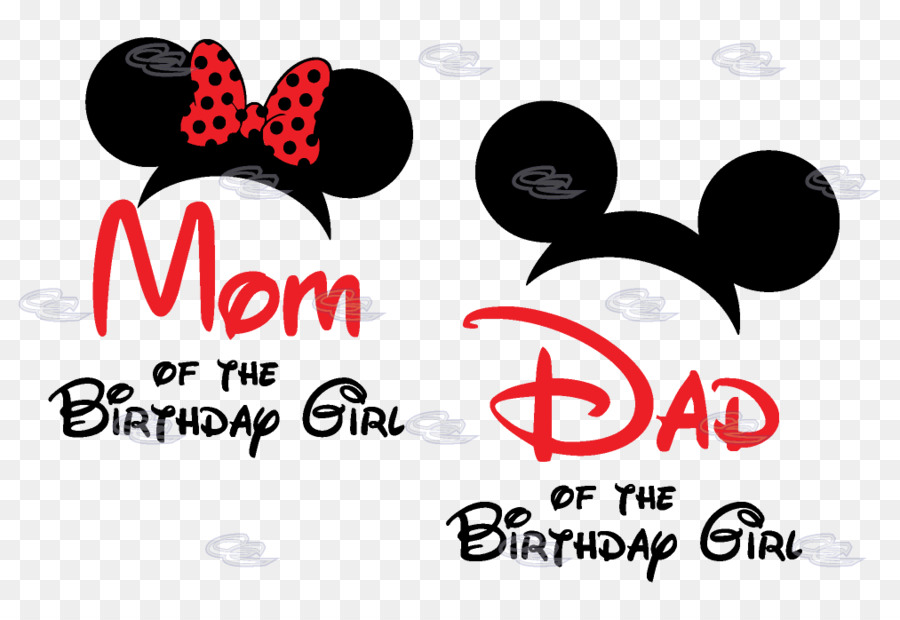 Mom Of The Birthday Boy Clipart T Shirt Mickey Mouse Minnie