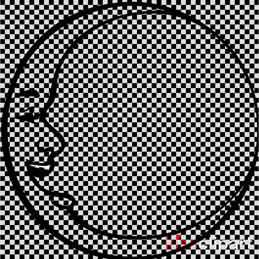 moon black and white clipart Moon Lunar phase Clip art
