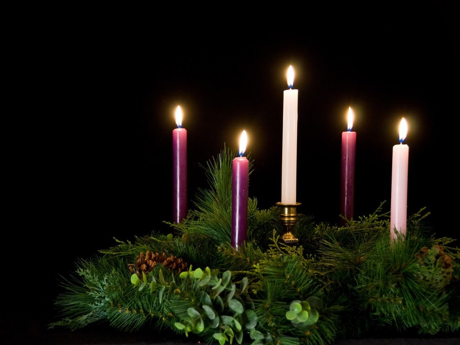 download fourth sunday of advent wreath clipart advent