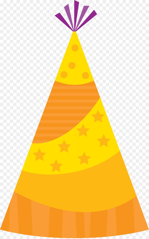 Party hat. Birthday clipart cap transparent