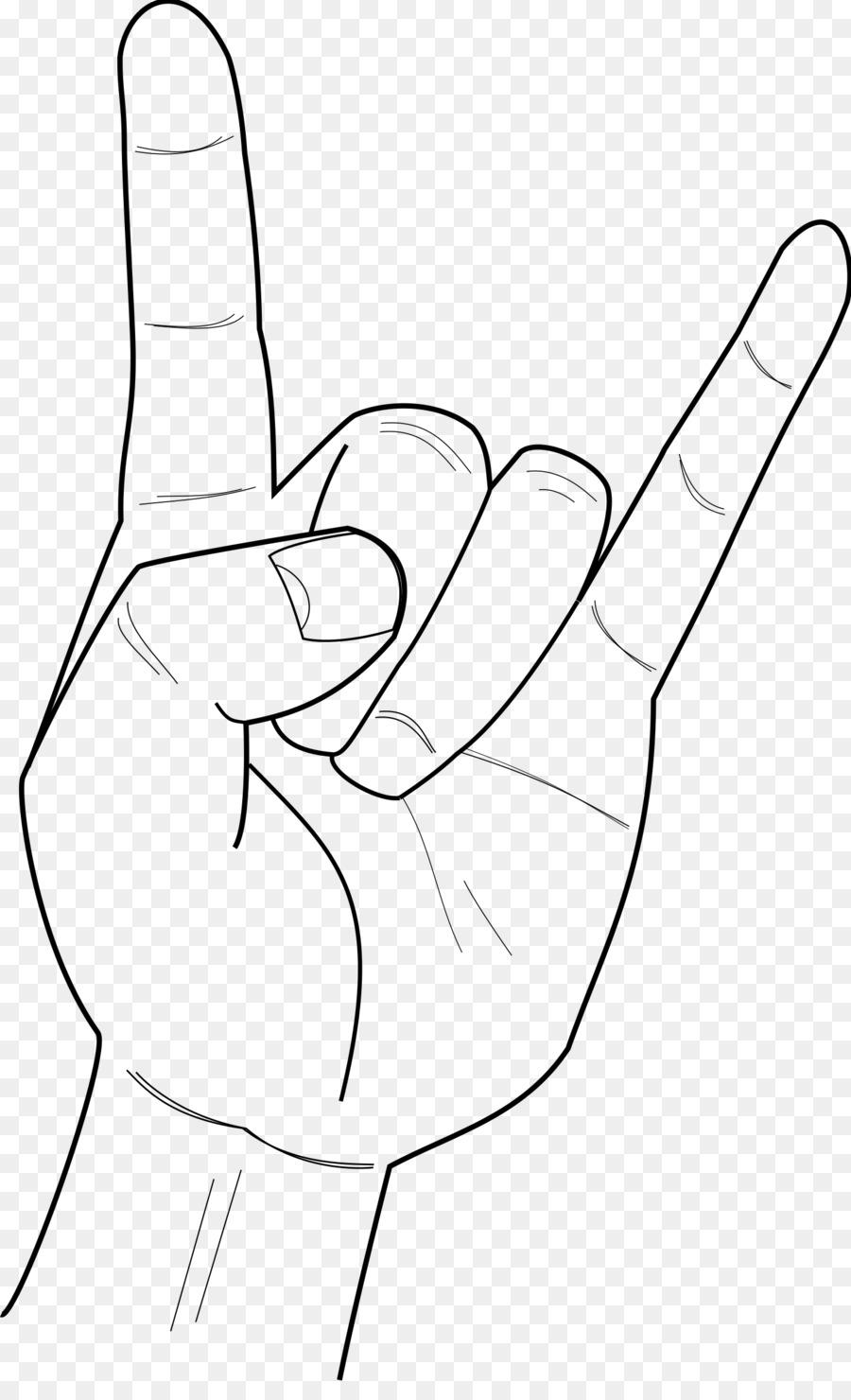 Hand transparent. Metal background clipart rock