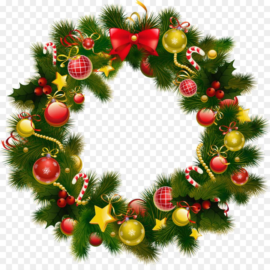 Wreath Christmas Transparent Png Image Clipart Free Download