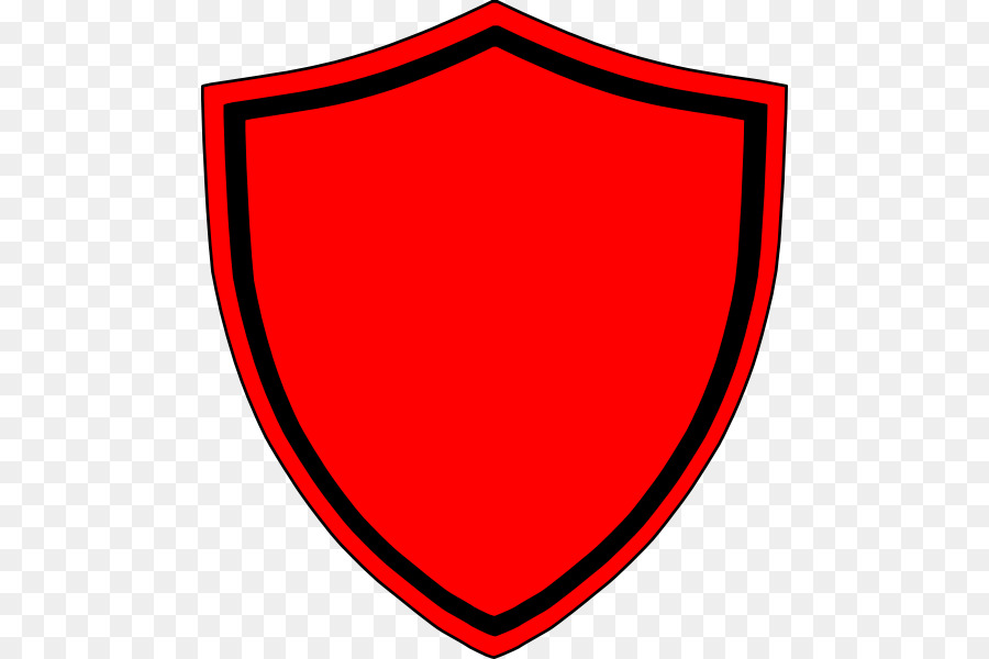 Shield red. Circle clipart transparent clip