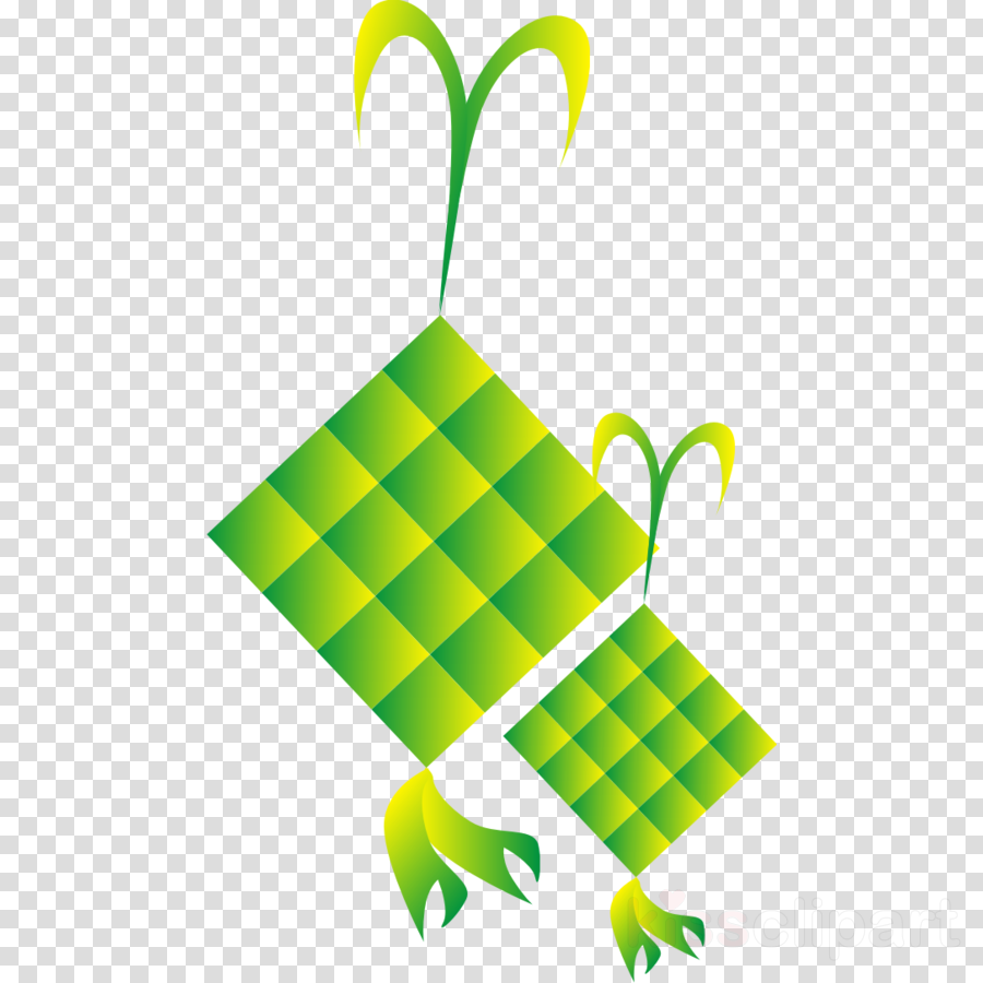 Ketupat Lebaran Clipart