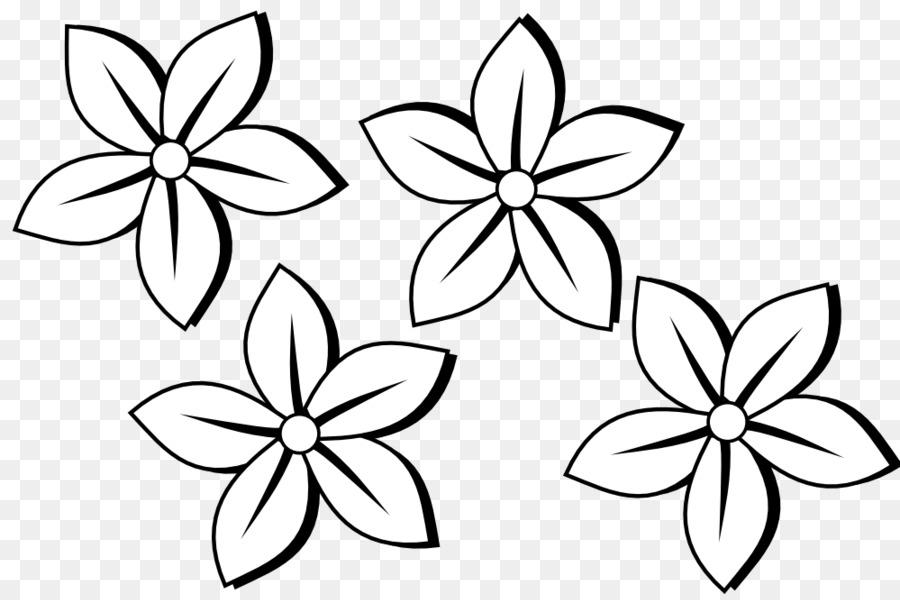 Flower Flower Line Art Simple