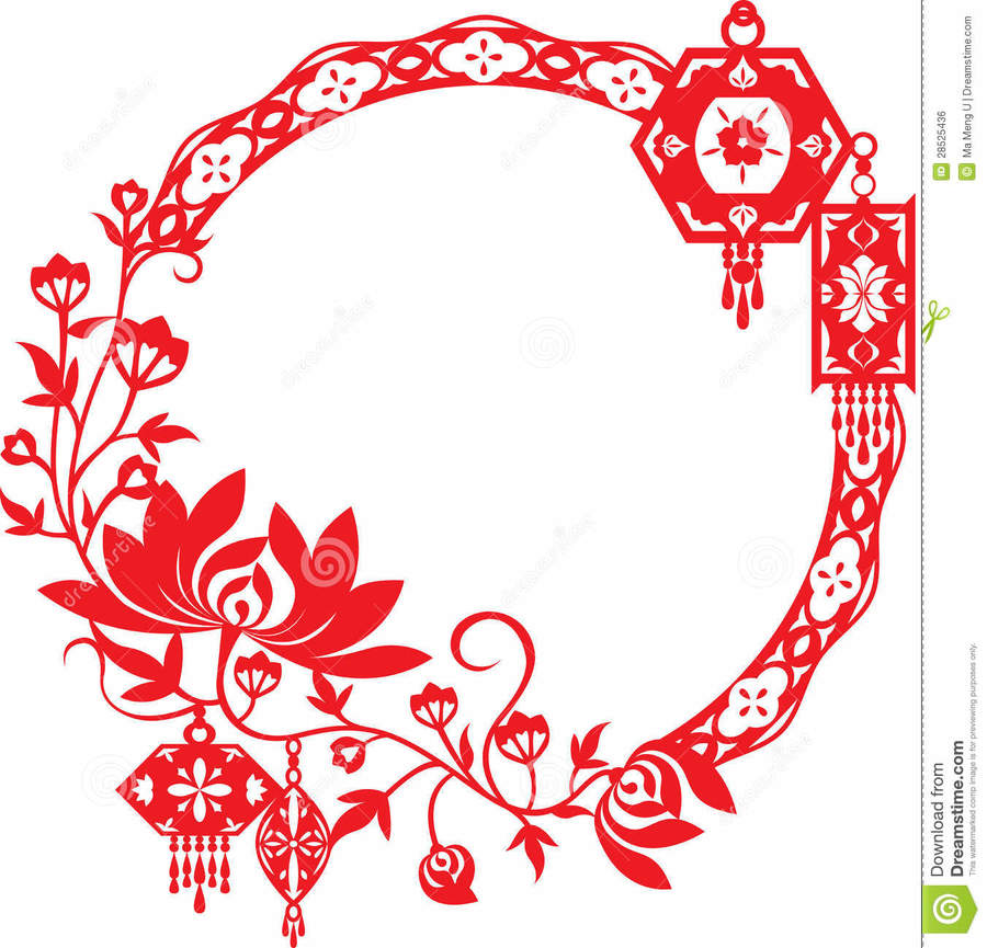 chinese new year border design clipart chinese new year clip art