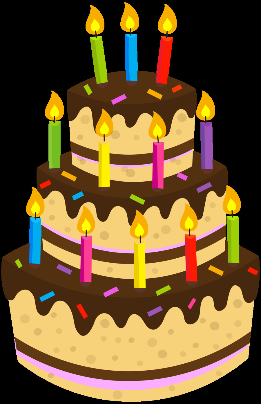 Download Birthday Cake Png Transparent Clipart Chocolate Cake Clip