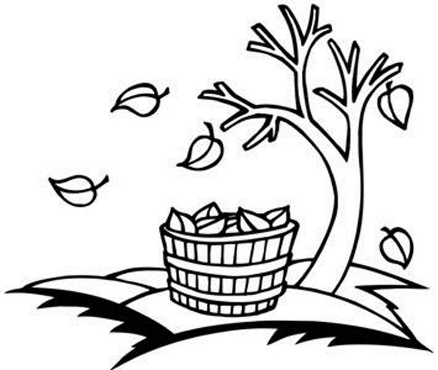 Download Fall Leaves Coloring Pages Clipart Coloring Book Autumn - Fall-leaves-clip-art-coloring-pages