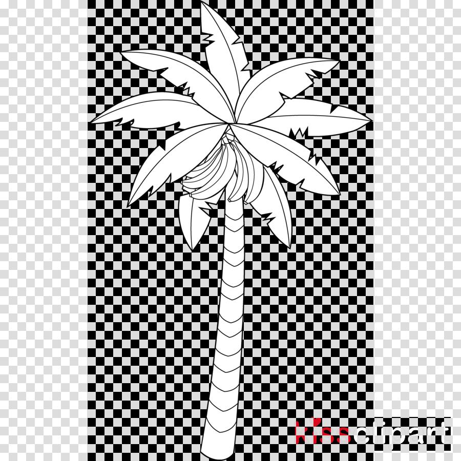 Banana Tree Coloring Page Banana Tree Coloring Sheet High Quality