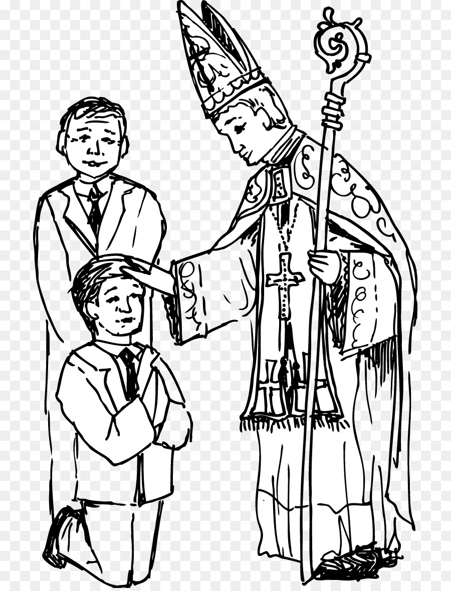 Book Black And White Clipart Baptism Clothing People Transparent Clip Art