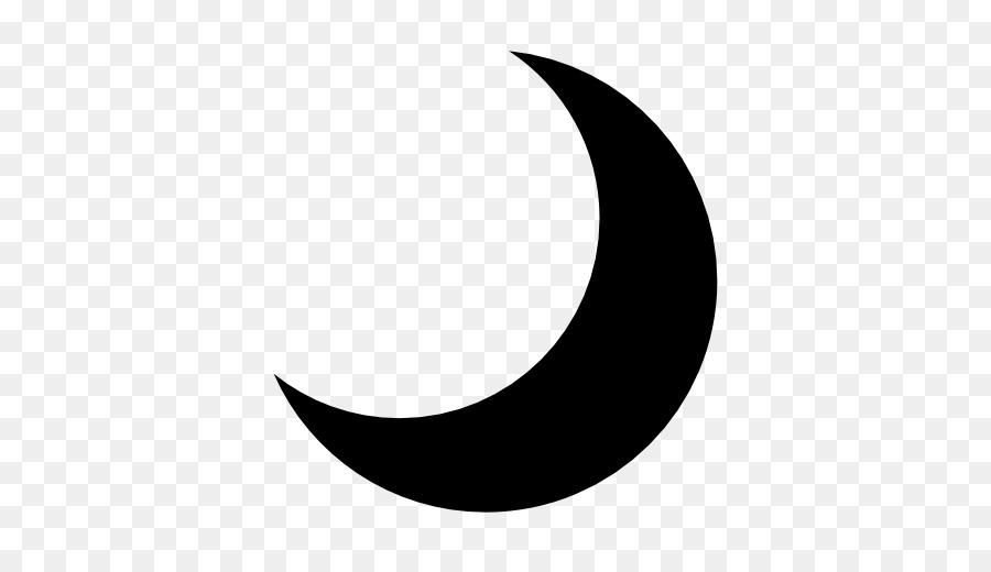 Black Line Background Clipart Moon Circle Sky Transparent Clip Art