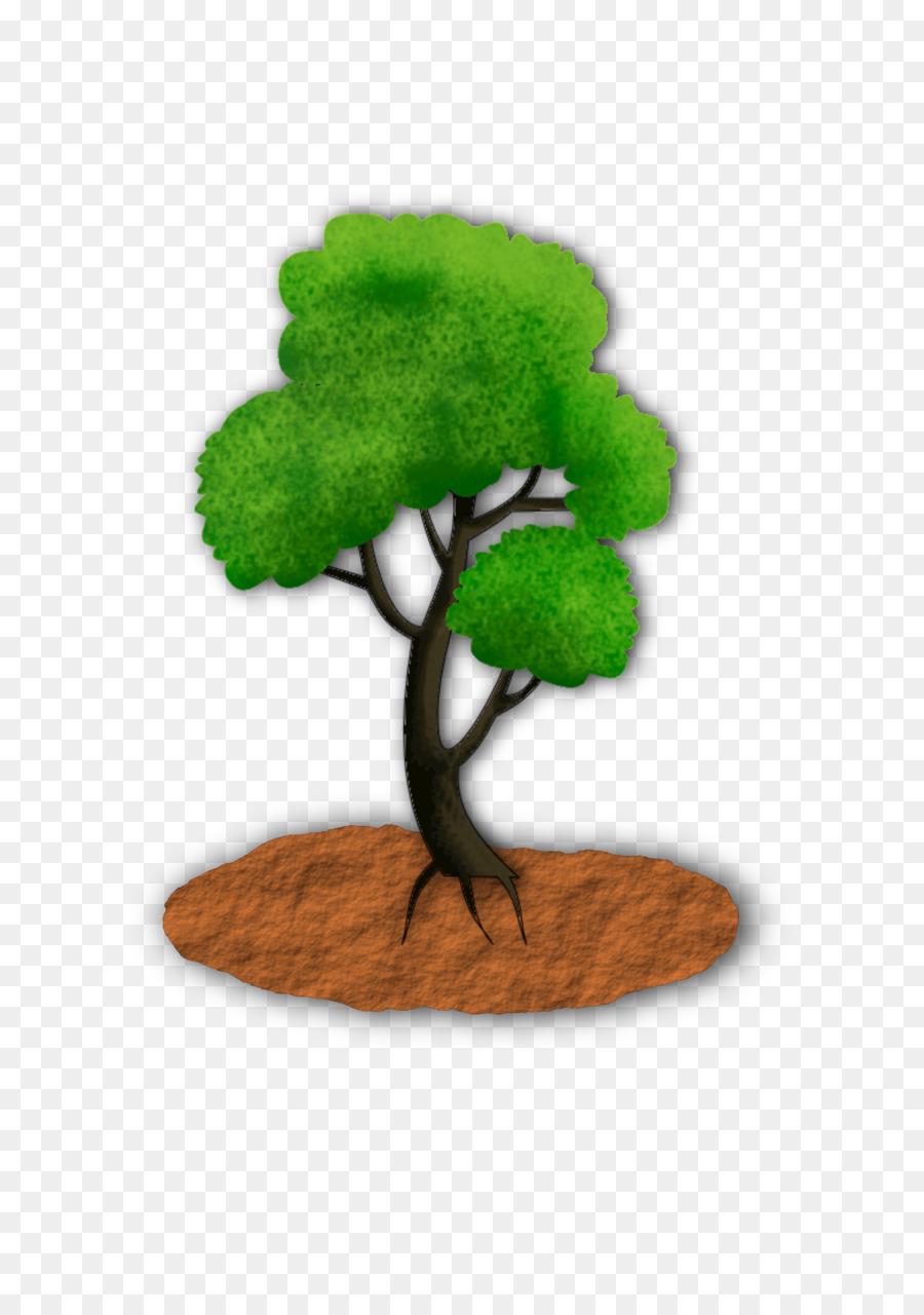 tree clipart Tree Houseplant Flowerpot