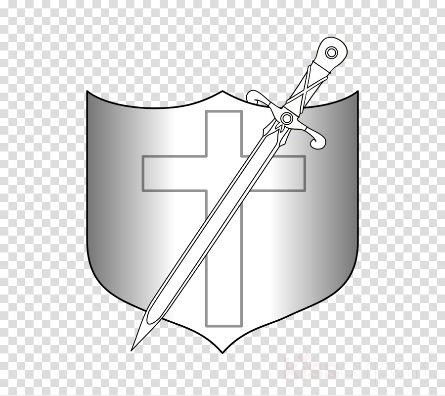 Shield, Sword, Rectangle, transparent png image & clipart