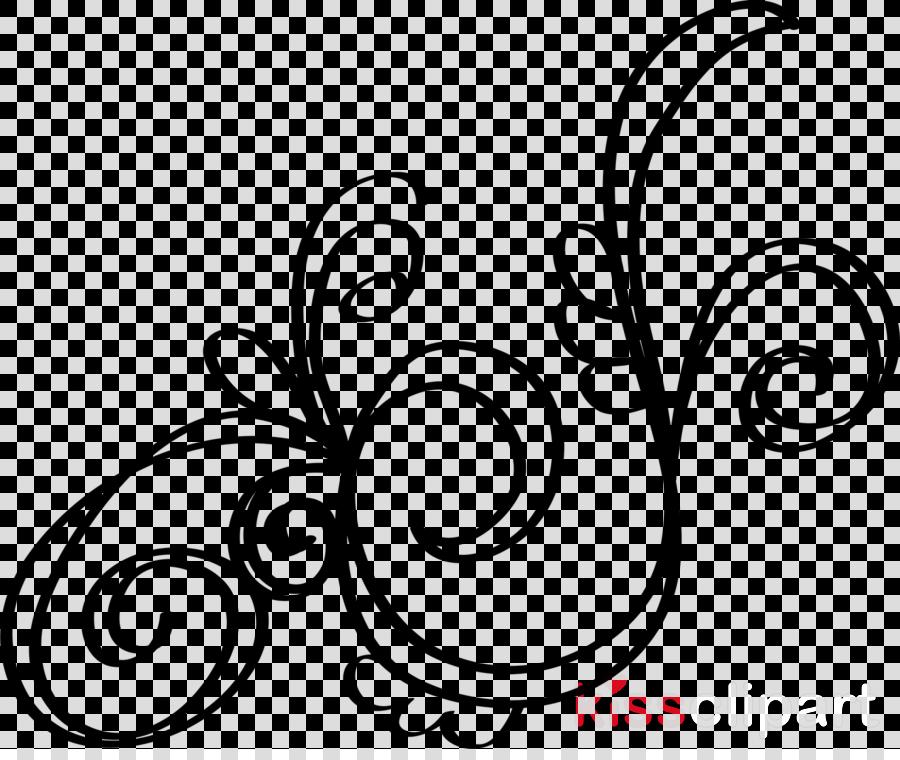 simple swirl clipart - HD1600×1331