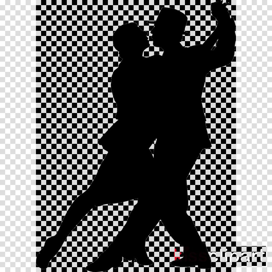 dancing silhouette clipart Ballroom dance Clip art
